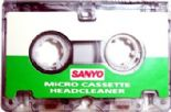 Sanyo Micro Cassette Head Cleaning Tape ( Headcleaner )